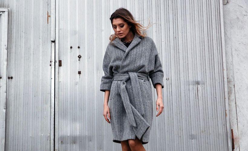 пальто ратин