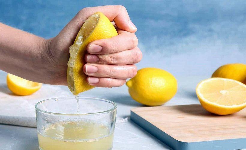 сок лимона против зеленки
