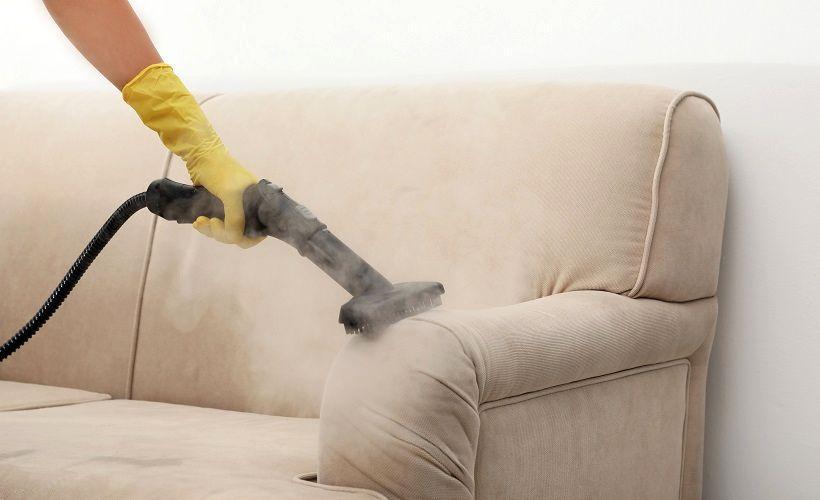 чистка дивана пароочистителем