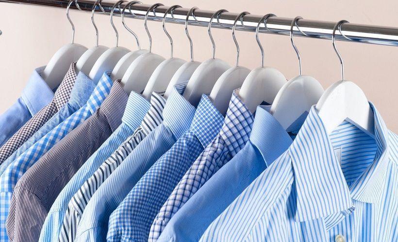 хранение рубашек на плечиках
