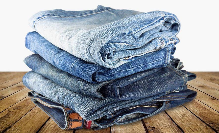 как осветлить джинсы