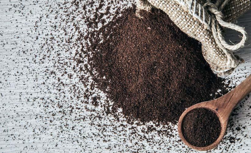 кофейная гуща для чистки замши