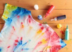 окрашивание футболки
