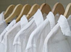 отбеливание белой блузки