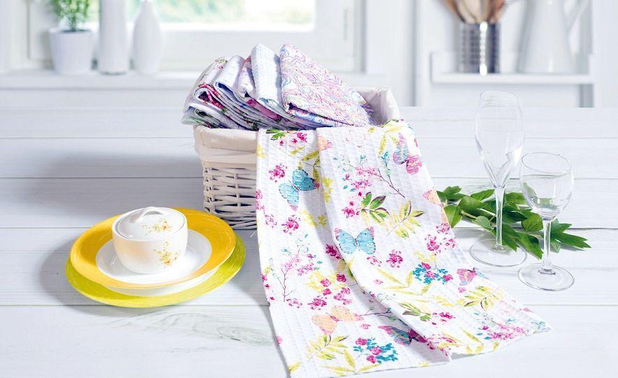 отбеливание кухонных полотенец