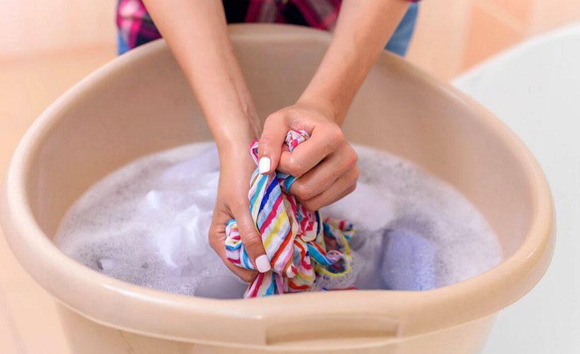 подготовка одежды к покраске