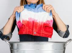 покраска одежды