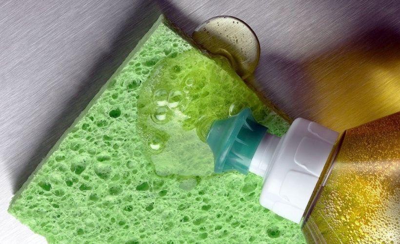 средство для мытья посуды против слайма