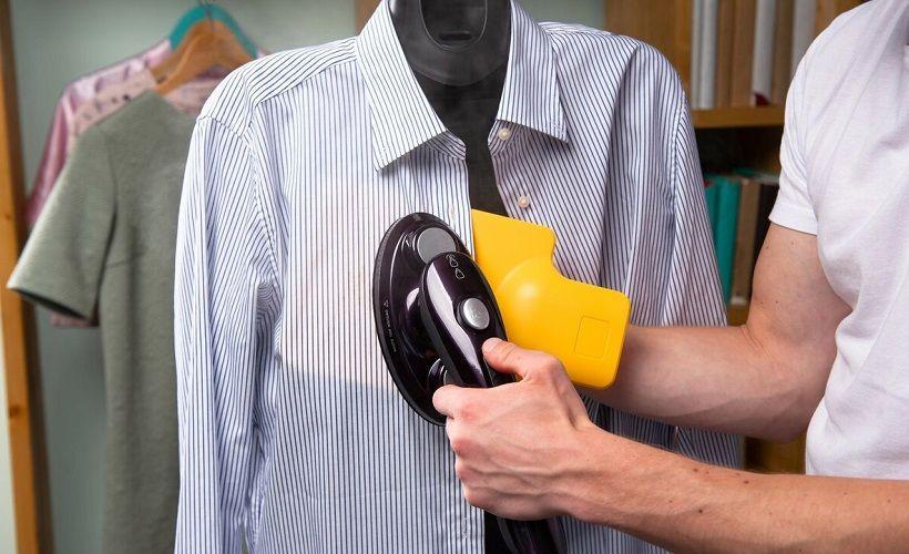уход за рубашкой при помощи парогенератора