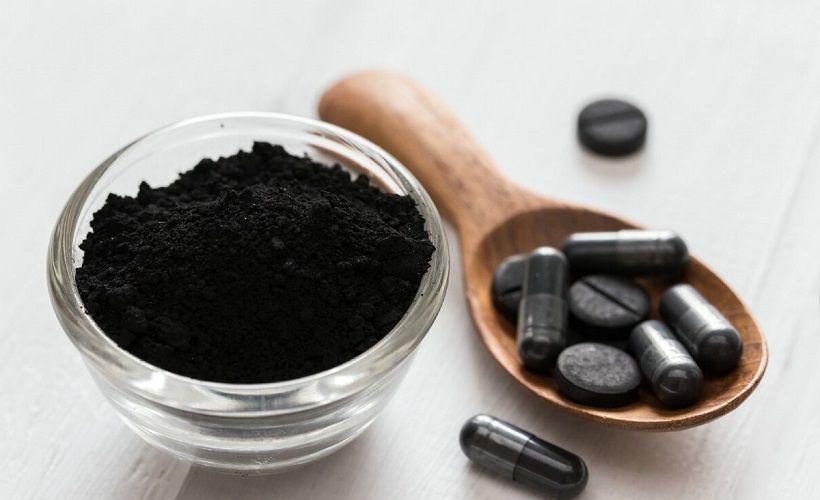 активированный уголь для избавления от запаха