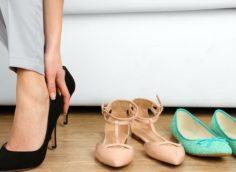 как уменьшить размер обуви