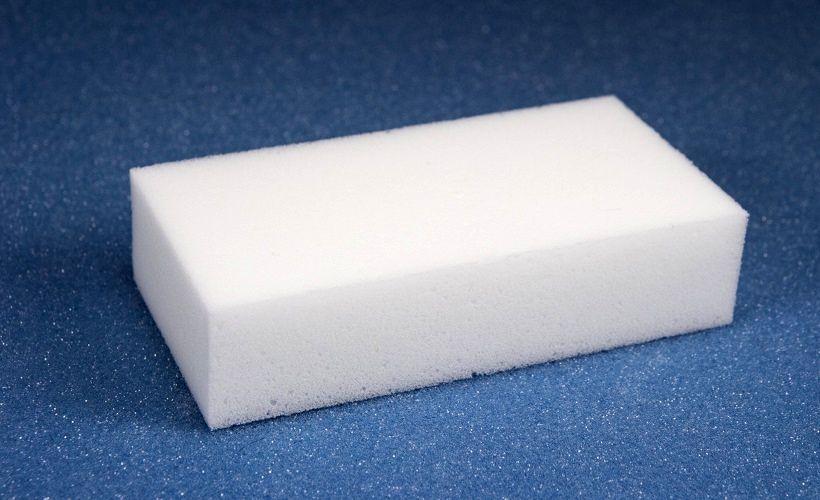 меламиновая губка для отстирывания подошвы