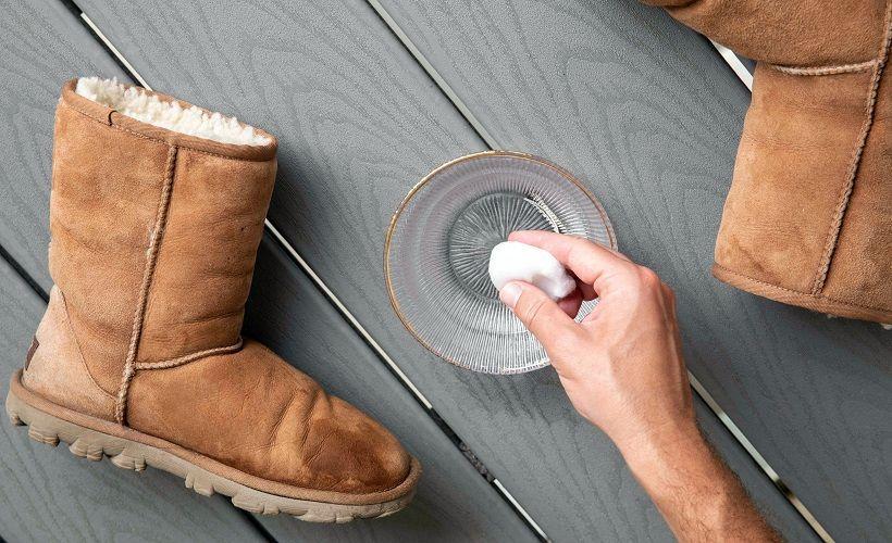 мыльный раствор для стирки обуви
