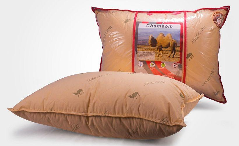 подушка верблюжья шерсть