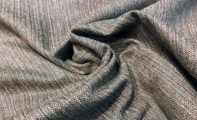 костюмная ткань елочка