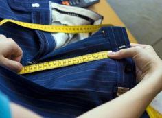 выбор размера брюк