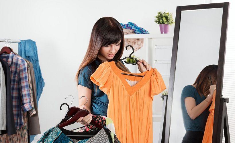 выбор размера платья