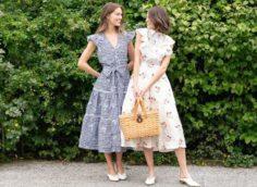 выбор ткани для платья
