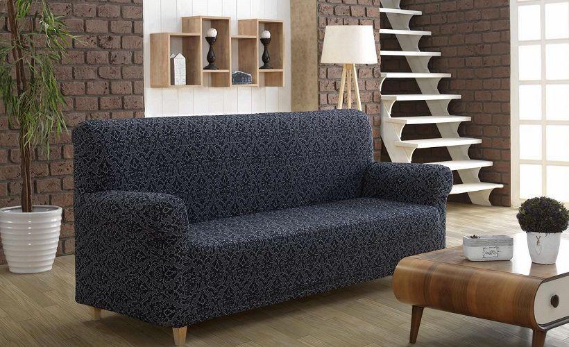 жаккардовый диван