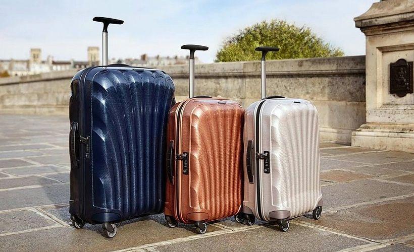 чемодан с колесами