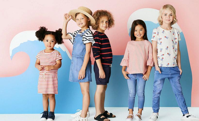 детская одежда США