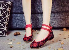 китайская обувь для женщин