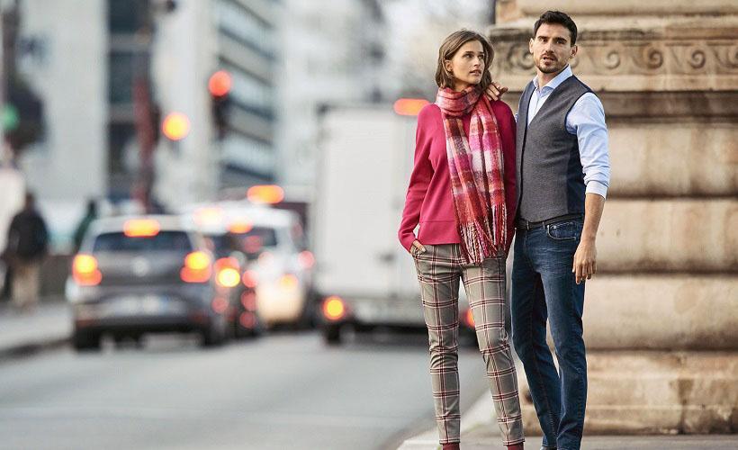 мужская и женская европейская одежда