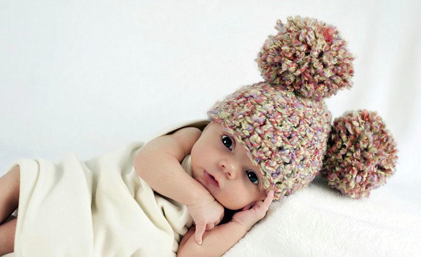 шапка для малышей