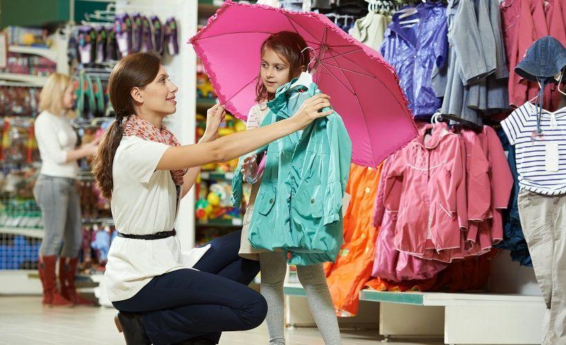 выбор одежды для девочек