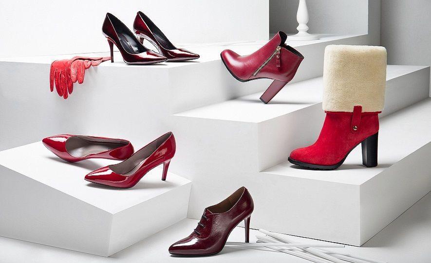выбор размера женской обуви